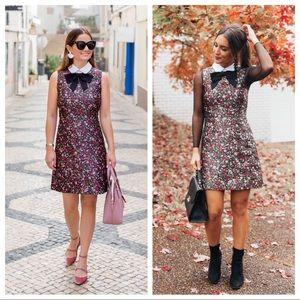 EUC Kate Spade New York Boho Collared Mini Dress 0